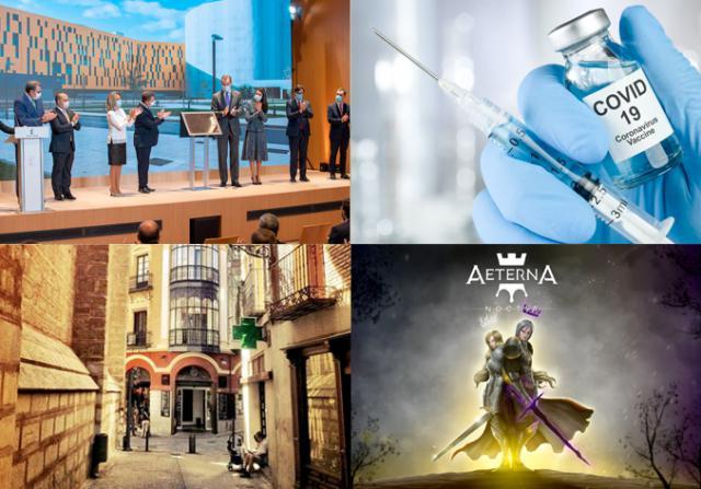 BUENOS DÍAS | Un videojuego talaverano, el Hospital de Toledo echa a andar, prorrogado el cierre de la hostelería en la capital... las noticias del lunes