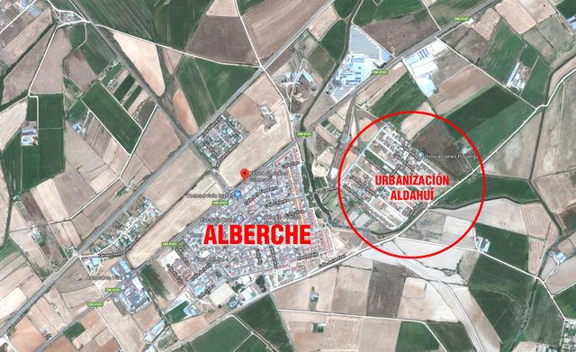 Urbanización 'Aldahuí', donde se habría encontrado el cadáver / Google Maps
