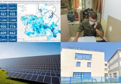 BUENOS DÍAS | Triste récord de incidencia en Talavera, inversión millonaria en fotovoltaicas, rastreadores militares, lo más destacado del viernes