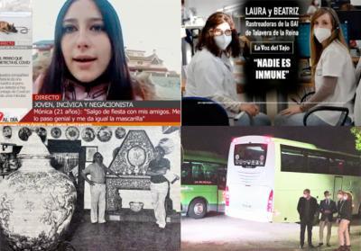 BUENOS DÍAS   La entrevista de la joven talaverana en CUATRO AL DÍA que niega un posible contagio, el toque de queda y las noticias más destacadas del viernes