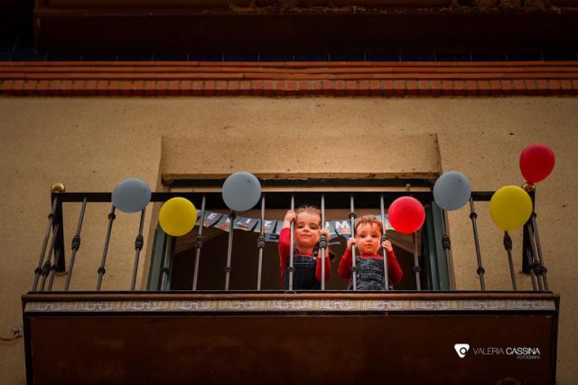 TALAVERA | 'Feliz cumple, Enzo... desde el balcón', por Valeria Cassina