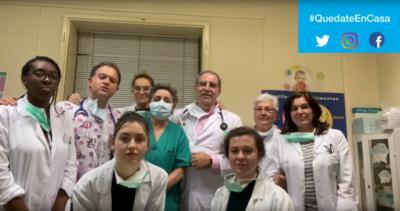 VIDEO | Los sanitarios de Atención Primaria de Talavera te lo piden: #QUÉDATE EN CASA