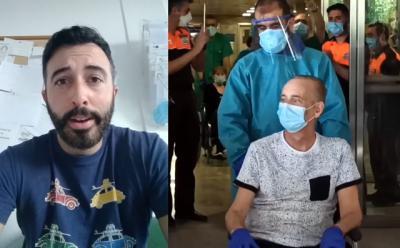 VIDEO   ¿Recuerdan al fisio de Talavera que nos advirtió hace semanas? Hoy homenajea a su compañero