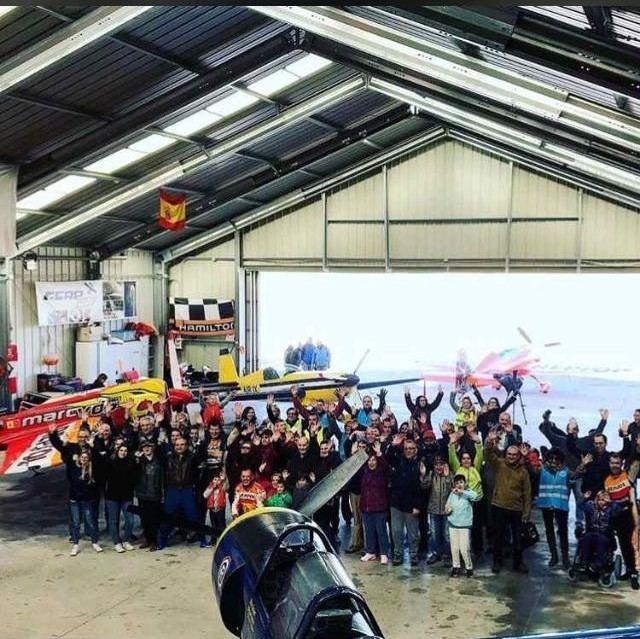 El Aeródromo de Casarrubios apuesta por la inclusión en el ocio de personas con discapacidad