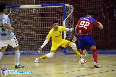 El Soliss FS Talavera luchó pero no pudo ante un bien armado Atlético Mengíbar