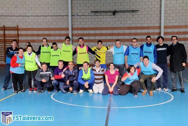El Soliss FS Talavera participa en el proyecto deportivo de la Asociación Asprodeta