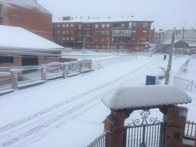 IMÁGENES Y VÍDEOS | Así quedaron ayer Numancia de la Sagra y Fuensalida después de la nieve