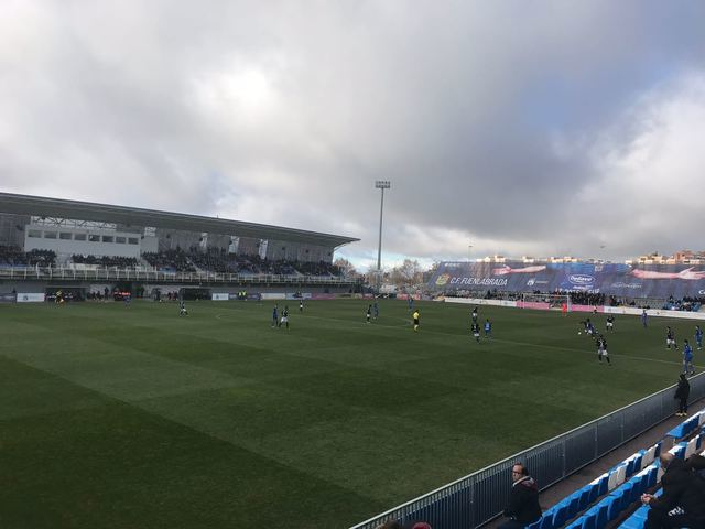 6-0, excesiva derrota para el CF Talavera ante el Fuenlabrada en 2ª B
