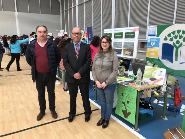 Inauguración de la I Feria de la Ciencia y la Salud de Consuegra