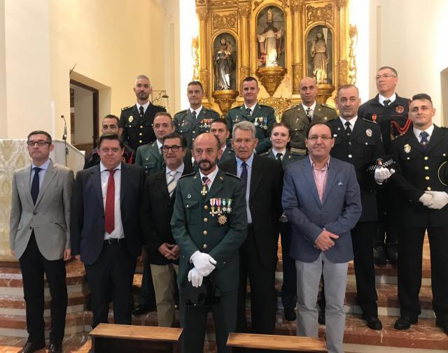 Diversos actos en la provincia para festejar a la Patrona de la Guardia Civil