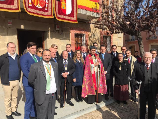 """Los """"populares"""" en el San Blas de Cervera de los Montes"""