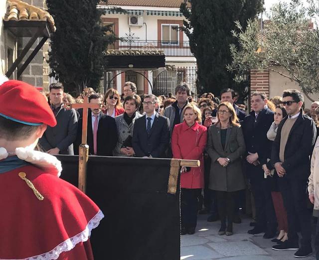 Fiestas de 'La Encamisada' de Menasalbas