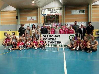 Las jugadoras del UCA Albacete, ganadoras de la final del 'Torneo JCCM de Baloncesto Femenino'