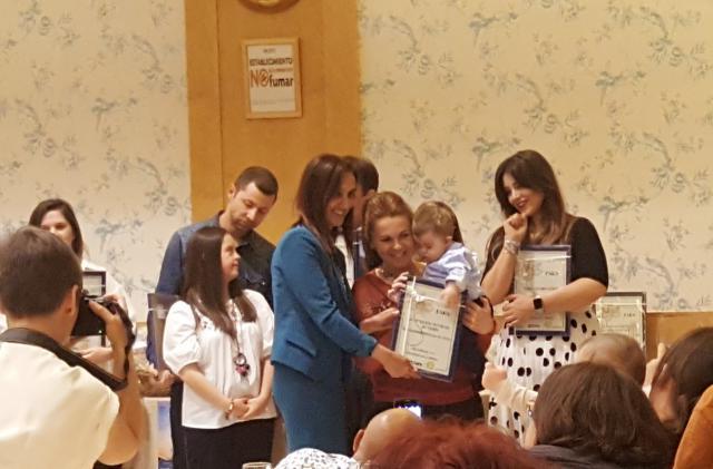 Bellón agradece el reconocimiento de Down Talavera a la Diputación