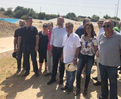El Casar de Talavera estrena circuito para bicicletas BMX con la financiación de la Diputación
