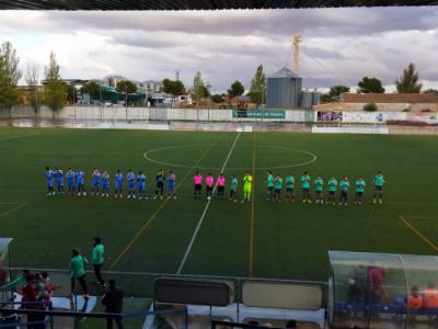 Empate sin goles en la visita del CD Cazalegas-Ebora Formación al Madridejos