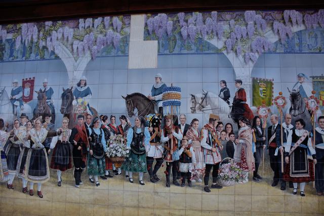 Mural de Las Mondas / Archivo