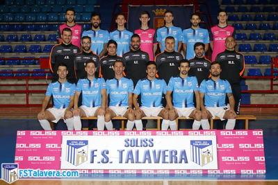 El Soliss FS Talavera presenta sus equipaciones para la temporada 2018-19