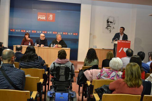 """Sergio Gutiérrez: """"El pacto en Albacete entre el PSOE y Ciudadanos está más vivo que nunca"""""""