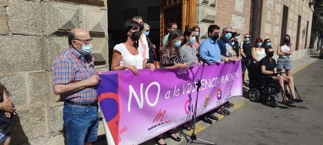 Minuto de silencio para las víctimas de violencia de género en agosto