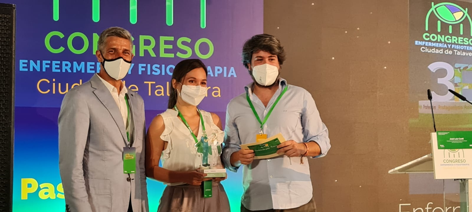 Premios y emoción en el V Congreso de Docencia en Enfermería y Fisioterapia 'Ciudad de Talavera'