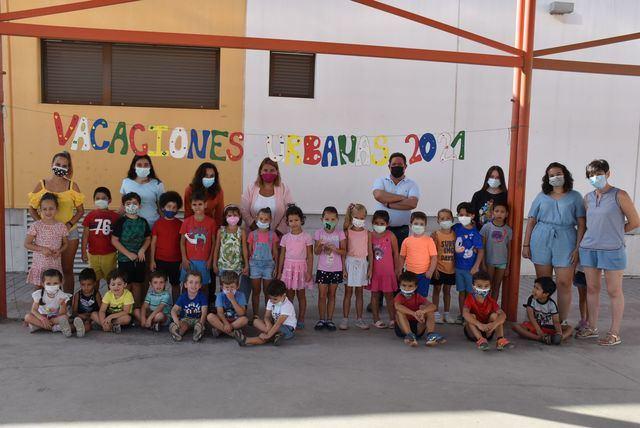 Más de 200 familias se benefician del programa 'Vacaciones Urbanas'