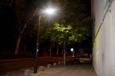 TALAVERA | Mejoras en la iluminación nocturna de Capitán Cortés