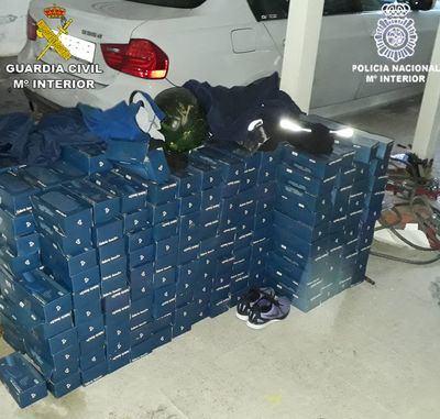 Desarticulado un grupo criminal con la detención de cinco varones especializados en el robo de mercancía de camiones