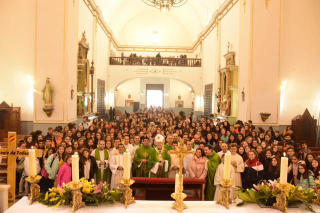 La fe de la juventud: más de 3.000 jóvenes peregrinan a Urda