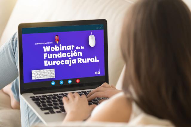 ECONOMÍA | Más de un millar de personas han participado en las sesiones formativas online de la Fundación Eurocaja Rural