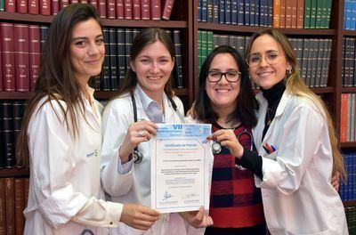 Premiados los residentes de Atención Primaria del Área Integrada de Talavera