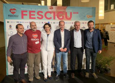 Respaldo institucional al Festival de Cine Solidario de Guadalajara 'FESCIGU'