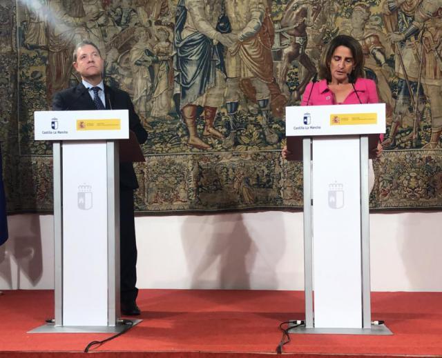 Reunión Page-Ribera: La Ley de Trasvase debe ser cambiada en el cómo y en los plazos fijados anteriormente