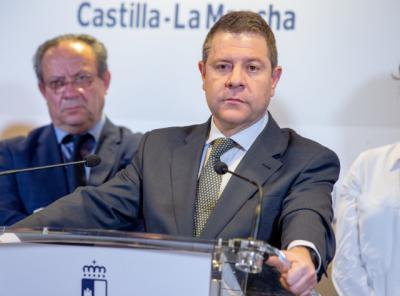 CLM | Page respalda las medidas del Gobierno y envía su