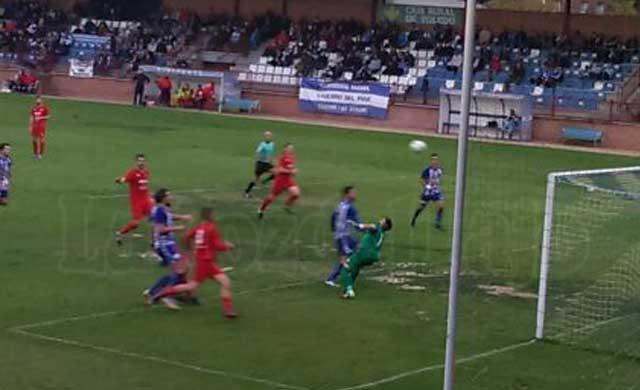 La secuencia del gol del CF Talavera frente al Almagro CF. No hubo fuera de juego