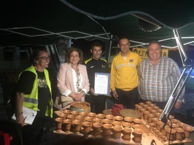 El ceramista Juan Carlos Fernández logra un récord Guiness en Talavera