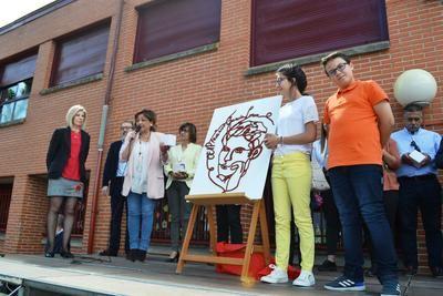 El Colegio Federico García Lorca estrena escudo