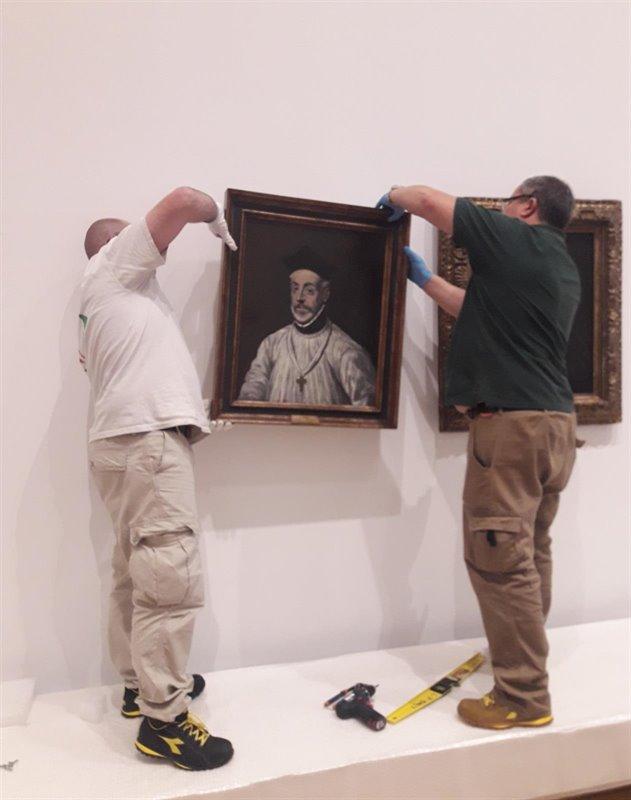 Llegan a París los 'Grecos' que Toledo ha cedido para la gran exposición monográfica del Grand Palais