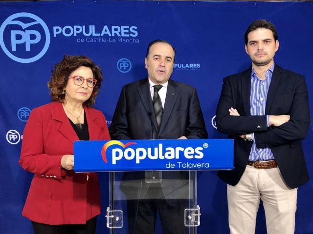 """LOs """"populares"""" Riolobos, Gregorio y Serrano."""