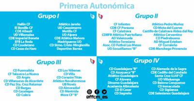FÚTBOL | Calera, Cazalegas y Talavera la Nueva ya conocen a sus posibles rivales