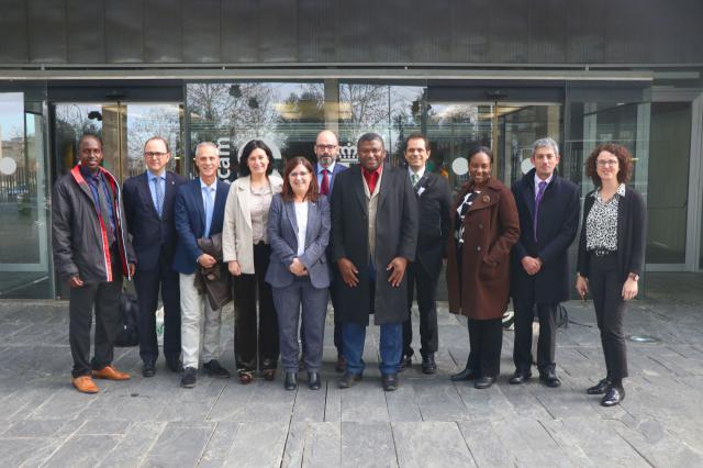 Una delegación del Ministerio de Sanidad de Gambia se interesa por el modelo de sistema sanitario de la región