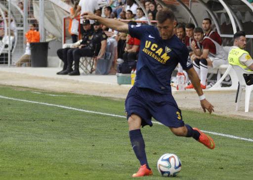 Góngora como jugador del UCAM Murcia