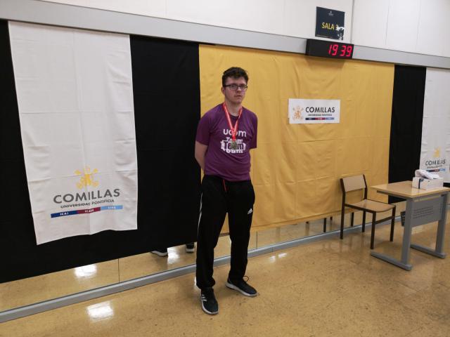 TENIS DE MESA | El talaverano Gonzalo Herranz se proclama campeón universitario