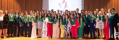 Emotivo acto de graduación de los alumnos de 2º de Bachillerato de los Maristas