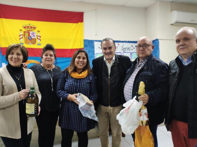 Gregorio participa en el Vino de Navidad del PP de Navalcán