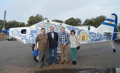 El próximo miércoles se instalará la avioneta de 'Harinera Talaverana'