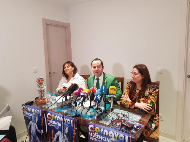 El actor Salva Reina será el pregonero del Carnaval de Herencia