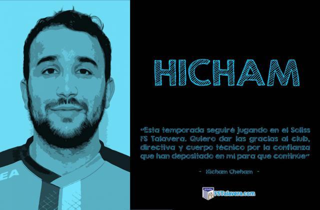 FÚTBOL | Soliss FS Talavera renueva a Hicham por una temporada más