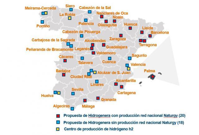 INVERSIÓN   Talavera, dentro del 'megaplán' de hidrogeneras de Naturgy en España