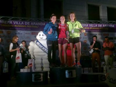 La talaverana Rocío Fernández firma una más que notable actuación en Aranda de Duero